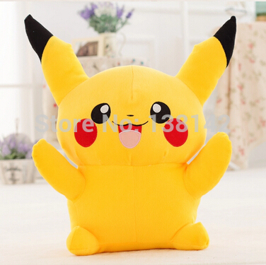 Pokemon Plush Yellow Pikachu Toys