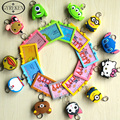 Silicone Can Stretch Lanyard Card Case Holder Girl Portable Cartoon String Hello Kitty Metro ID Bus Ldentity Badge PY092