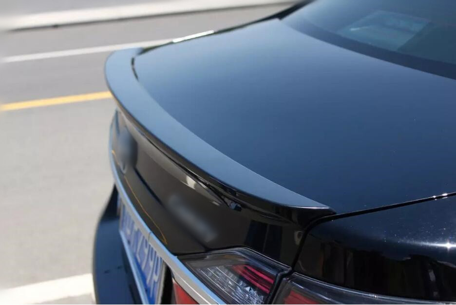 BLACK Rear Wing Trunk Aero Spoiler For Toyota Camry 2012 2016