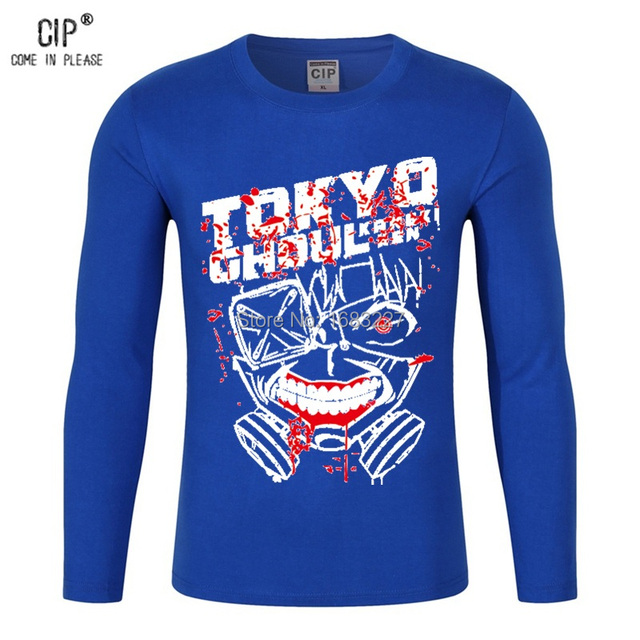 Tokyo Ghoul Long Sleeve Cotton Tshirt