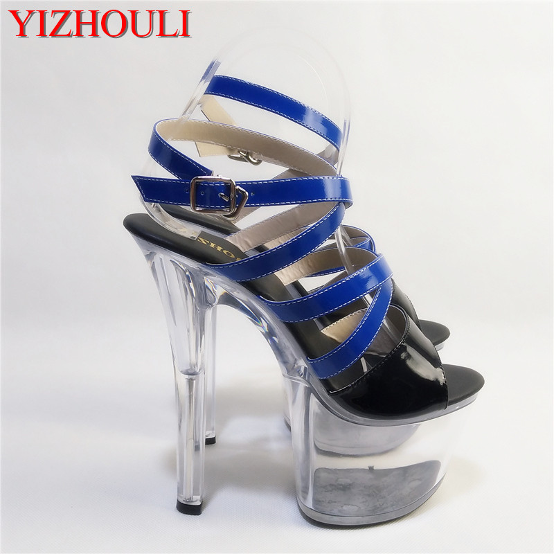 c2c18194865 17 cm new hot sexy high heeled sandals women high heel platform heels pole  dancing shoes-in High Heels from Shoes on Aliexpress.com   Alibaba Group