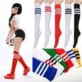 2016 Новая Мода 1 Пара Два стиль резиновые сапоги носки продажи толщина длинные носки для женщин зимние ботинки девушки полосатый за гольфы