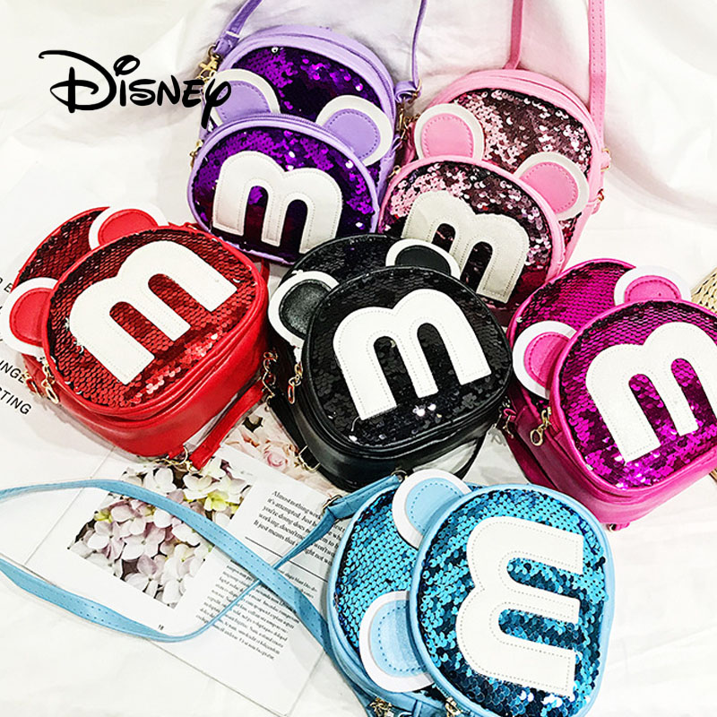 New Little Girls Disney Winnie the Pooh Purple Lavender Mini Small Purse Handbag