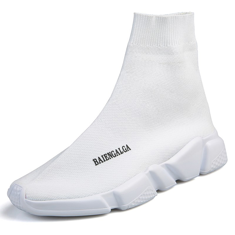 Women Shoes 2018 Fashion Socks Shoes Female White Black Vulcanized Shoes Unisex Sneakers Women Casual Shoes Plus Chaussure Femme