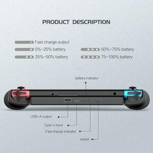 Image 2 - Funda de batería de 10000mAh para consola Nintendo Switch, con soporte, Cargador rápido, batería externa para Nintendo Switch NS NX