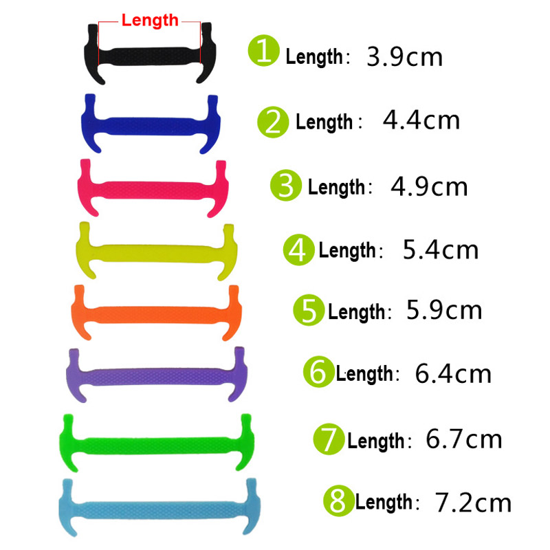 Shoes 8 Roots Unisex Men Women Elastic Silicone Shoes Lace No Tie Shoelaces For All Sports Sneakers Silicon Laces Shoelace Shoe Accessories New 1 Bag