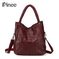 100 Genuine Leather Bags Real Sheepskin Women Handbags Patchwork Crossbody Bags For Women Free Shipping