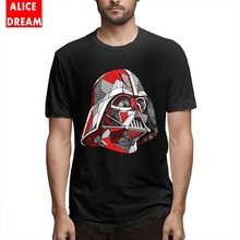 Yoda/Darth Vader T shirt Star wars Mens Quality Abstract Shirt Geek Pure Cotton S-6XL Plus Size Camiseta