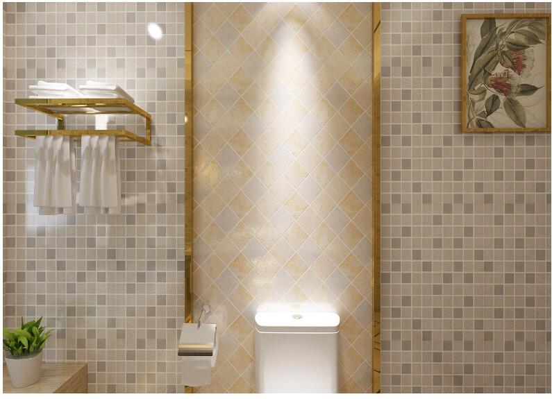 Badkamer Tegel Stickers : Meter pvc muursticker badkamer waterdichte zelfklevende behang