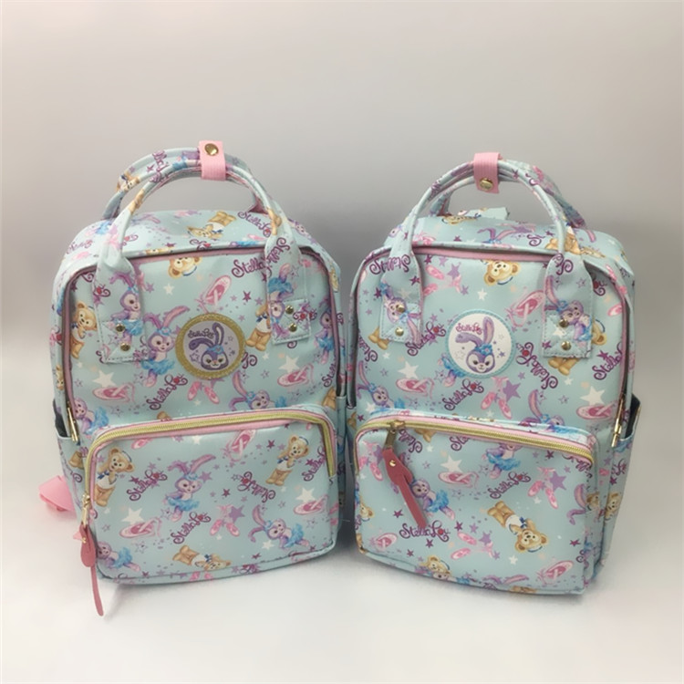 IVYYE Cute  Rabbit Style Fashion Anime PU Backpacks Soft Leather School Backpack Casual Bags Travel Knapsack Unisex NewIVYYE Cute  Rabbit Style Fashion Anime PU Backpacks Soft Leather School Backpack Casual Bags Travel Knapsack Unisex New