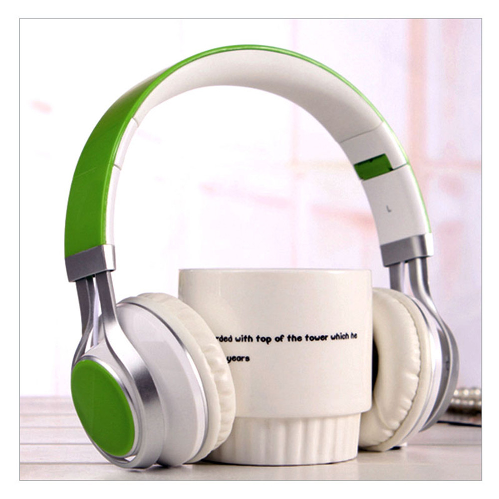 Adjustable Folding Headset Extra Bass Stereo HIFI Headphones With MIC Surround Stereo Noise Canceling Earphone For Smartphones insermore active noise cancelling headphones wired bass stereo surround headset with mic flight headband for iphone xiaomi iq 3