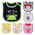 Newborn Baby Bibs Toddler Baby Bandana Bibs Cotton Cute Animail Infant Baby Burp Cloths Set Lot For 0-3 Years Baby Bibs