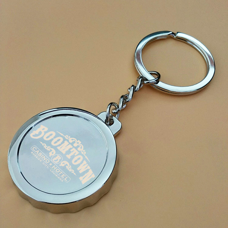 US $131 6 20% OFF|100pcs Beer Bottle Cap Keychain Key Holder Bottle Openers  Custom Logo Personalized Bottle Opener Key Ring Party Favor Souvenir-in