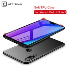 CAFELE Soft case for xiaomi redmi note 7 cases silicone TPU cover ultra thin luxury phone business shell