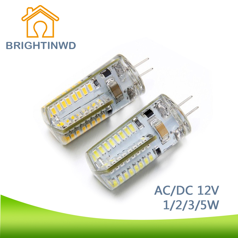 BRIGHTINWD LED Corn Light G4 led bulb 220V 1w 2w 3w 5w Led Spot light dc 12V ac Led lamp Home Lighting Ampoule Chandelier Lights