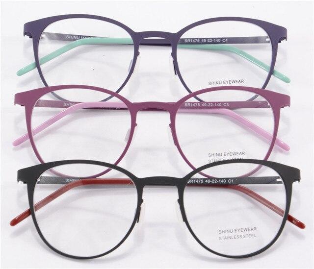 Best Selling Round Glasses Frame Women Men Eye Glasses Optical ...