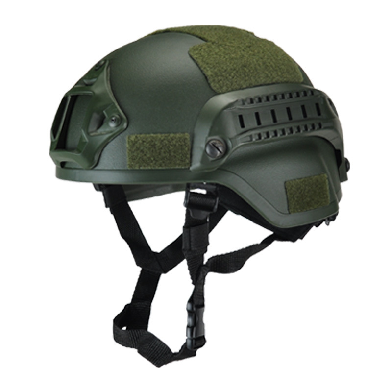 Tactical Safety Helmet Hard Hat Cap ABS Material Outdoor Sport Paintball Head Protector Adjustable Helmets for Hunting Shoot lightweight hunting tactical helmet airsoft gear crashworthy head protector helmets for cs paintball game camping