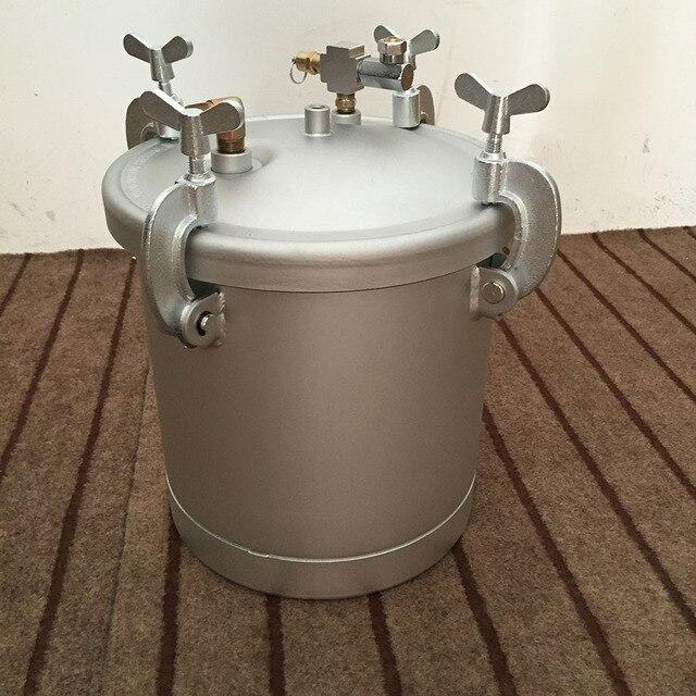 SAT8000 seaux chimiques à haute pression de baril de poudre pour peindre la bouteille de peinture de haute qualité 10L