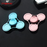 1PCS EDC Toys Triangular Hand Spinner High Quality Metal Profession Hand Spinner ADHD Tri Spinner Cool
