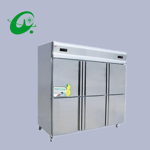 Gefriergeräte Genossenschaft Gd1.6l6d Modelle Küche Kühlschrank Sechs Doppel-temperatur Gefriergeräte