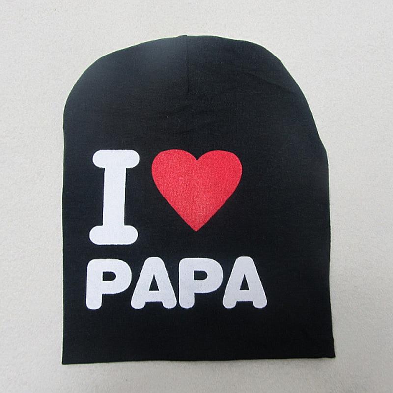 Neue 0-2 Jahre Iove MOM Love DAD Brief Baumwolle Babymütze Cap Girl - Babykleidung - Foto 3