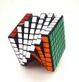 Shengshou 7X7X7 Cubo Mágico Profesor Cerebro Desconcertante 7*7 Cubos de Juguete Educativo Divertido Regalo Tratador para Niños de Los Niños
