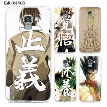 Transparent Soft Silicone Phone Case anime hunter x For Samsung Galaxy j8 j7 j6 j5 j4 j3 Plus 2018 2017 Prime