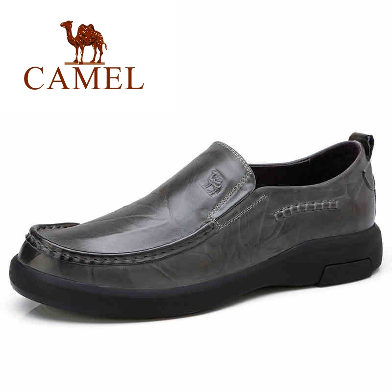 CAMEL Genuine Leather Men shoes High Quality Comfortable Loafers Male Business Formal Footwear Sapato Masculino Flats Moccasins clementoni пазл hq лондон красная телефонная будка 500