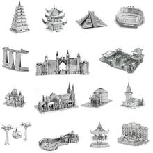 Architecture 3D Metal Puzzles World Famous Building