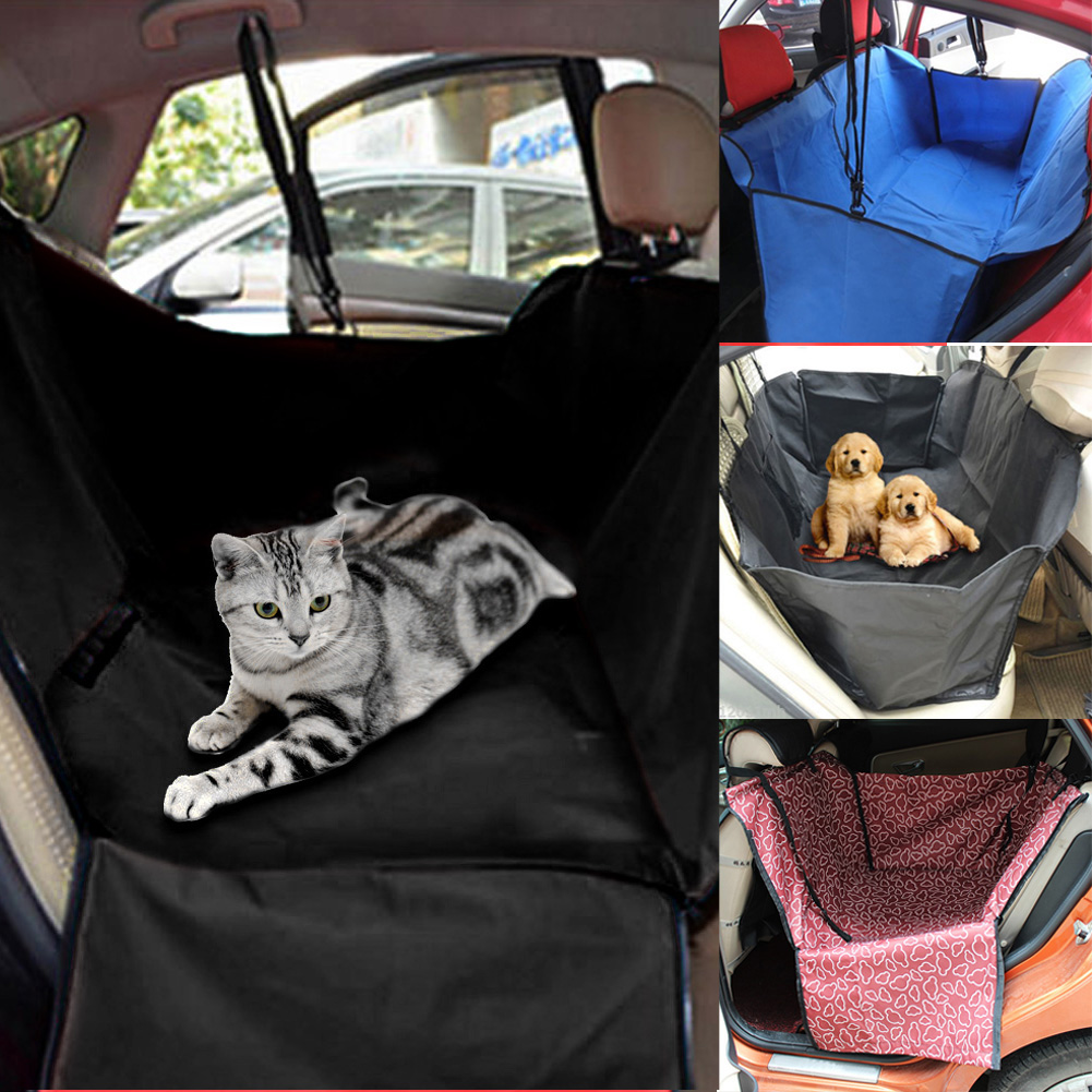 Dog Cat Car Seat Cover Safety Pet Waterproof Hammock Blanket Cover