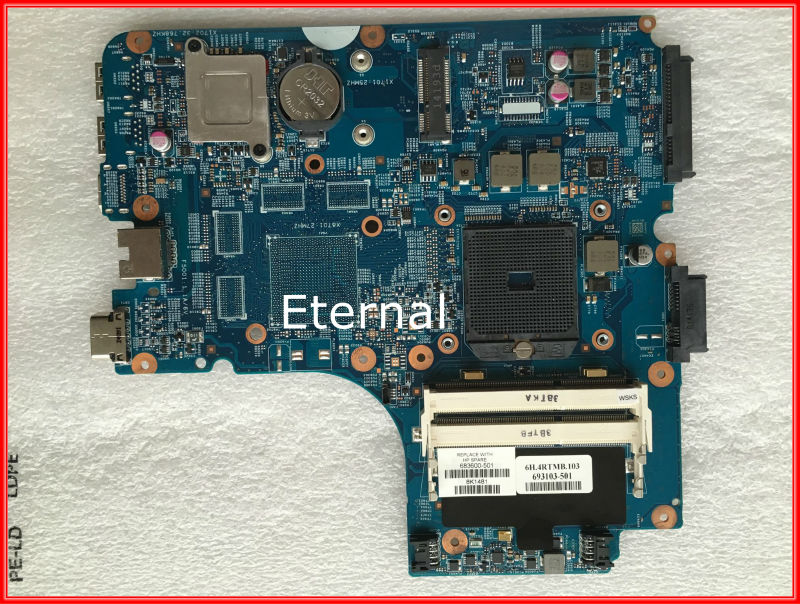 683600-601 683600-501 For hp 4445S 4446S 4545S Notebook Motherboard 48.4SM01.011 Tested working 683600 001 683600 501 main board for hp probook 4445s 4545s laptop motherboard socket fs1 ddr3 48 4sm01 011