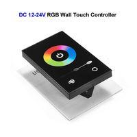 100 pcs RGB Controlador de Toque de Parede CONDUZIU o Painel no Mercado DOS EUA América Módulos de Lâmpada padrão Para SMD 5050 3528 Tira CONDUZIDA Rígida iluminação