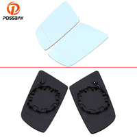 POSSBAY Car Rearview Wing Heated Mirror Glass for BMW 6 Series E63 Coupe 2004 2010 Exterior Door Mirrors for BMW 5 Series E60