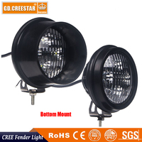 Agricultural LED Lights 40W LED Round Tractor Lights Flood Bottom Rear Mount TL2080 TL2060 For John Deere RE19080 AR85262 x1pc