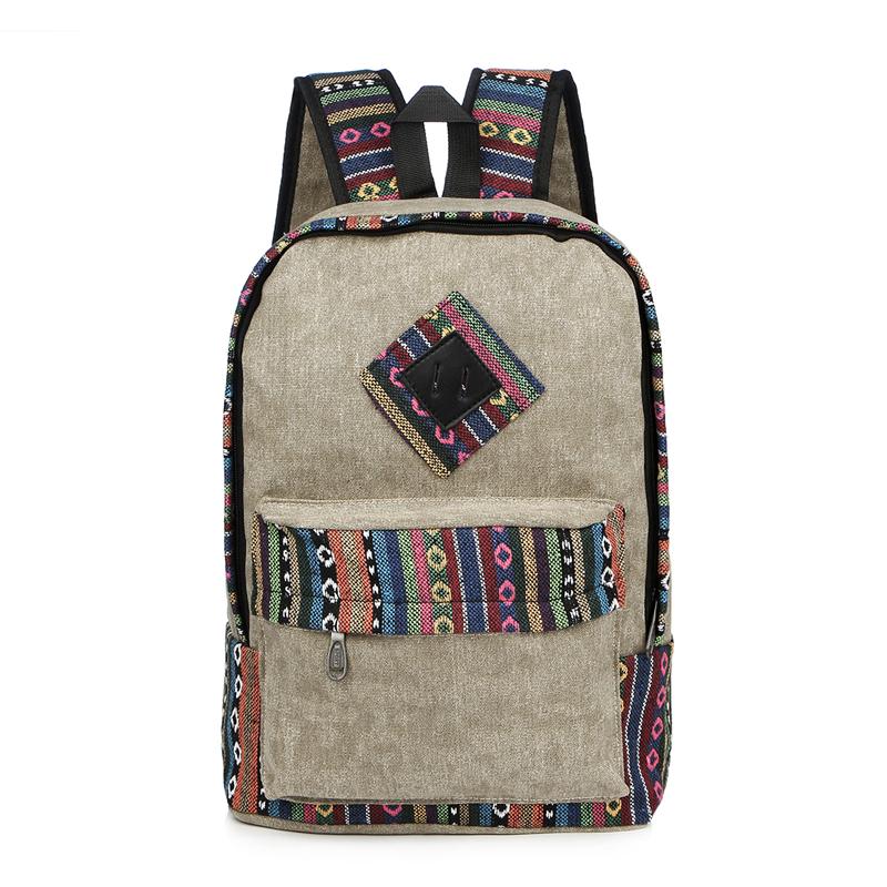 Vintage School Backpack 14