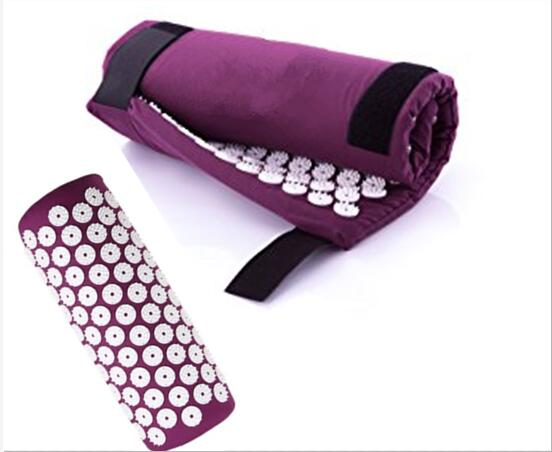 New Design Acupuncture Yoga Massage Mat Pillow Acupressure Spike Massage Cushion Neck Back Massager Body Relax