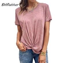 73aaa16e45da Compra knotted shirt y disfruta del envío gratuito en AliExpress.com
