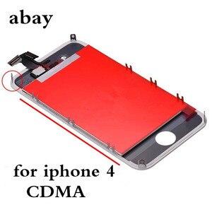 Image 3 - Aaa iPhone 4 GSM A1332 CDMA A1349 4 4S LCD ディスプレイタッチスクリーンデジタイザー交換モジュール GSM/CDMA 液晶画面デッドピクセル
