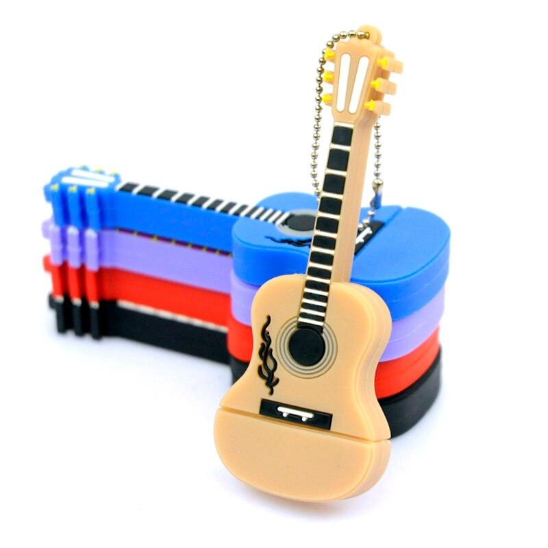 Venta caliente, Instrumento Musical de la Guitarra Usb Flash Drive/Usb Memory St