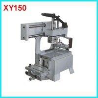 מכונת דפוס משטח ידנית XY150 למות צלחת רפידות גומי מותאם אישית משולב 3 ב 1 כרית ידנית אזור הדפסה 80*80 מ