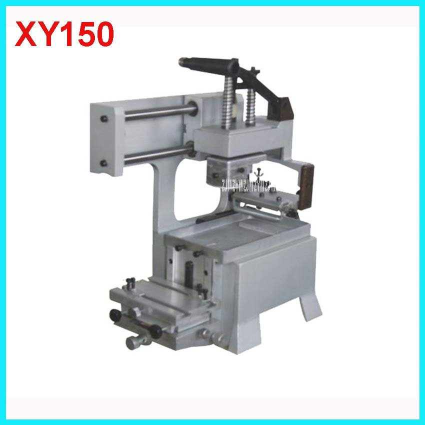 XY150 Manual Pad Printing Machine rubber pads and custom plate die Combo 3 in 1 printing area 80 * 80mm Manual Pad Printing pad printing rubber pad square pad