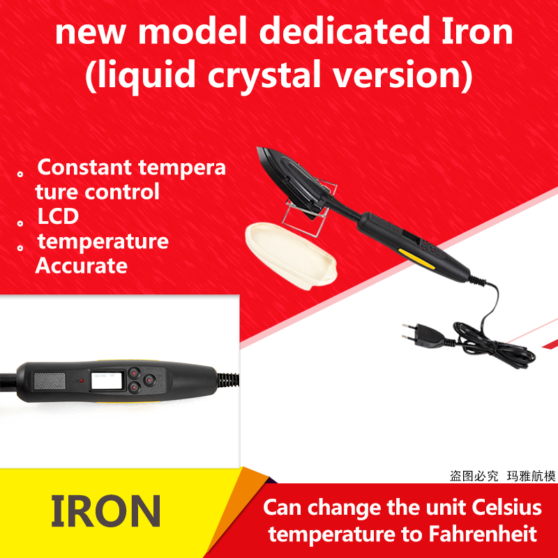 Prolux, Iron, Digital, Control, With, For