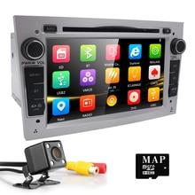 2 din Car DVD Estéreo para Vauxhall Opel Vectra Antara Astra H & G Zafira Corsa DVD GPS Navi de Radio de 2 colores volante RDS TV CAM