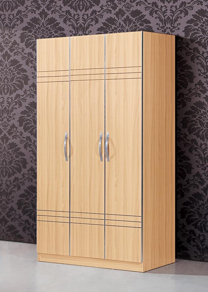 Clothe storage wardrobe simple wooden cloth closet new