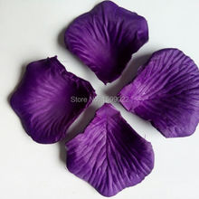 1500 шт 15 пачек романтический фиолетовый искусственный цветок «Роза» лепестки для украшения свадебной композиции petalas de rosa para casamento