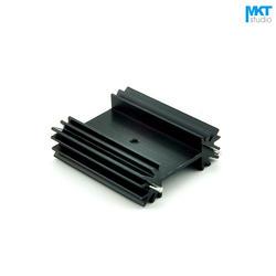 100 Шт. Черный 38x34x12B Чистый Алюминий Охлаждения Fin Радиатора Теплоотвод