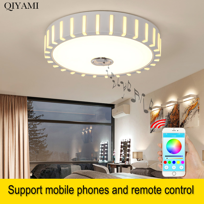 Rgb Music Lamp Led Ceiling Lights With Bluetooth Control