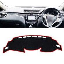 цена на Car Dashboard Cover Mat Pad Dashmat Dash Sun Shade Instrument Carpet Accessories For Nissan Qashqai J11 2014 2015 2016 2017 2018
