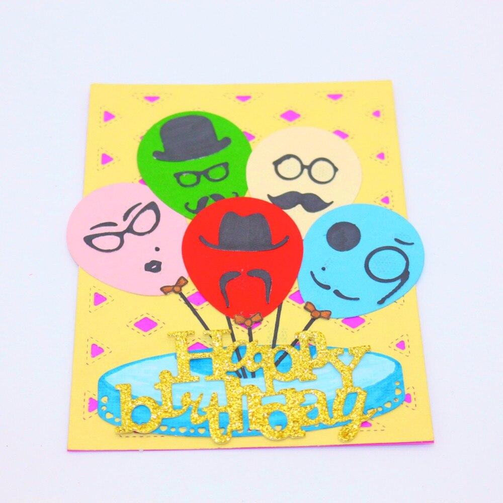 Cutting Dies Lovely Cutting Dies 95*107mm Balloon Metal Cutting Die Stencil For Diy Scrapbooking/photo Album Embossing Card Dies High Quality Materials