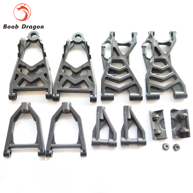 Plastic Complete arm set Suspension arm set fits HPI Baja 5b ss 5t 5sc King Motor